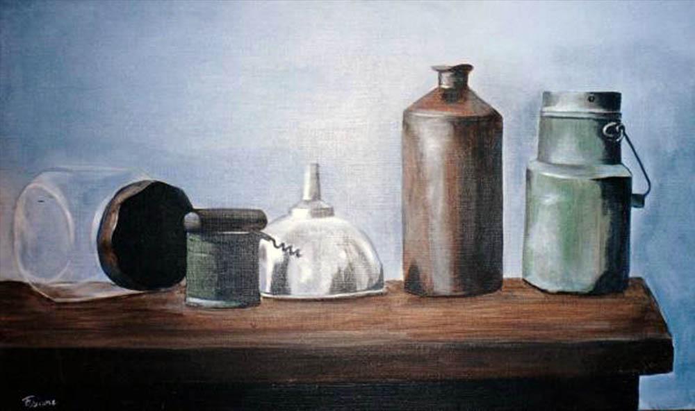 nature morte 1 peinture huile toile fabiane | fabiane legendre